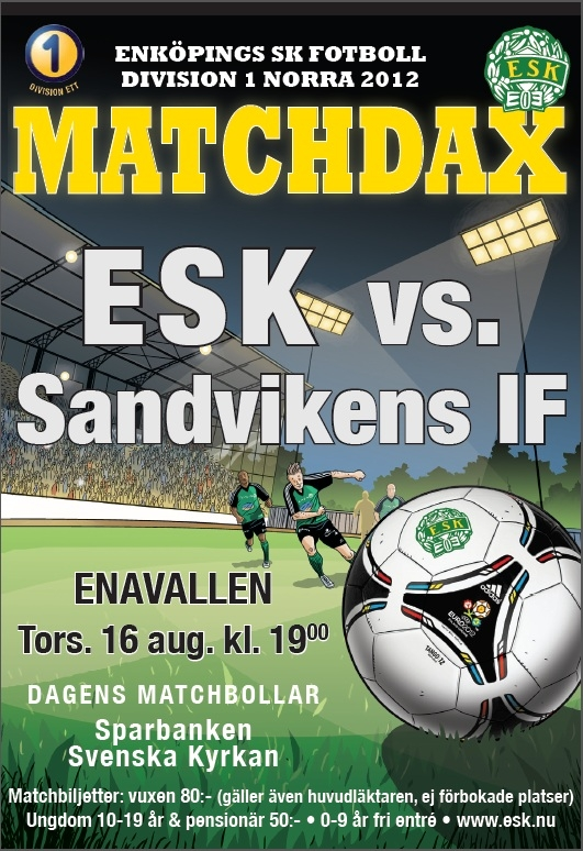 ESK-Sandvikens IF (UPD: 2012-08-12 20:38:33)