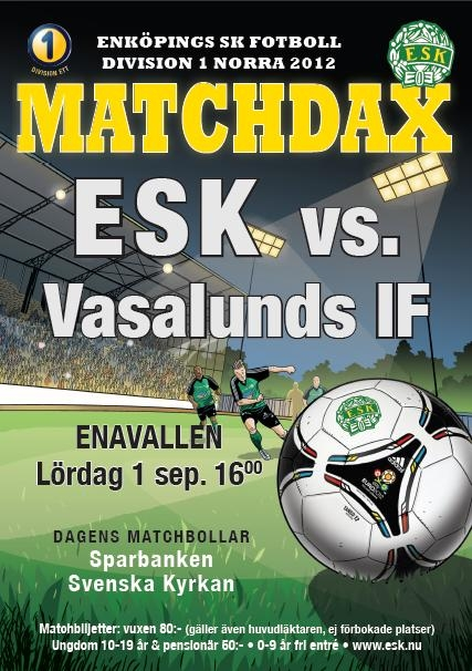 ESK-Vasalunds IF (UPD: 2012-08-28 07:46:00)